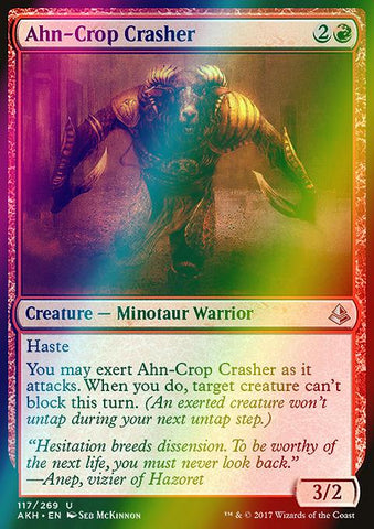 Ahn-Crop Crasher (Foil)