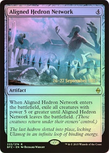 Aligned Hedron Network (Prerelease Foil)