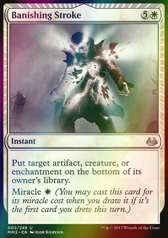 Banishing Stroke (Foil)