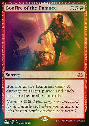 Bonfire of the Damned (Foil)