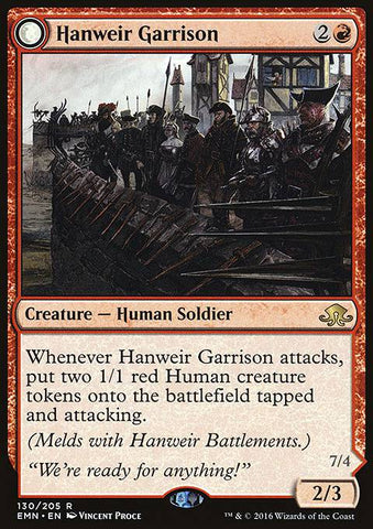 Hanweir Garrison (Hanweir, the Writhing Township) (Foil)