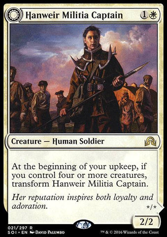 Hanweir Militia Captain (Westvale Cult Leader)