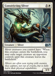 Constricting Sliver (Foil) (Trade-In)