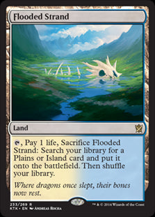 Flooded Strand (Foil) (Trade-In)
