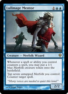 Lullmage Mentor (Foil) (Trade-In)