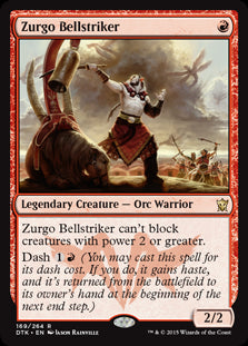 Zurgo Bellstriker (Foil) (Trade-In)