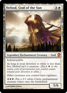 Heliod, God of the Sun (Foil) (Trade-In)