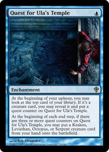 Quest for Ula's Temple (Trade-In)
