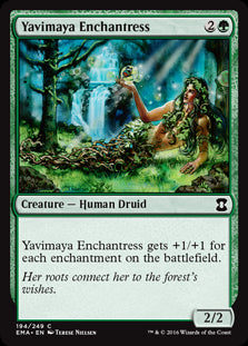 Yavimaya Enchantress
