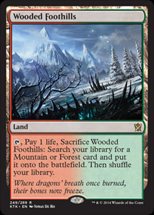 Wooded Foothills (Foil) (Trade-In)