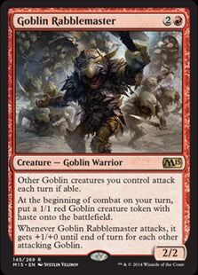 Goblin Rabblemaster (Foil) (Trade-In)