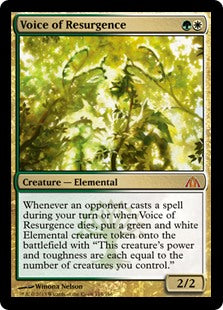 Voice of Resurgence (Foil) (Trade-In)