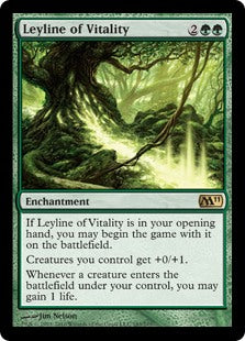Leyline of Vitality (Foil) (Trade-In)