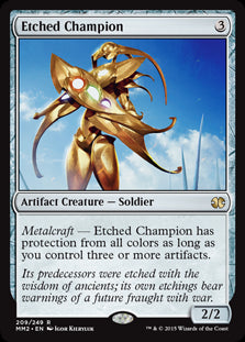 Etched Champion (Foil) (Trade-In)