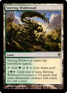 Stirring Wildwood (Foil) (Trade-In)