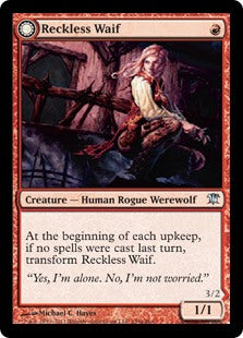Reckless Waif (Merciless Predator) (Foil) (Trade-In)