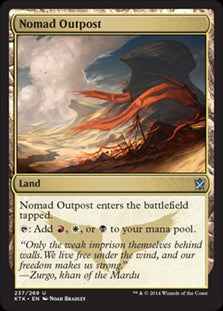 Nomad Outpost (Foil) (Trade-In)