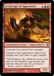Archetype of Aggression (Foil)
