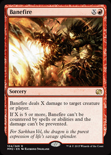 Banefire (Foil) (Trade-In)