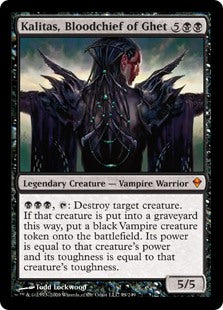 Kalitas, Bloodchief of Ghet (Foil) (Trade-In)