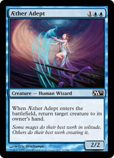 Aether Adept (Foil) (Trade-In)