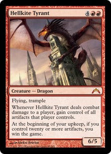 Hellkite Tyrant (Foil) (Trade-In)