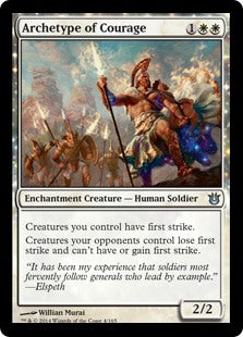 Archetype of Courage (Foil) (Trade-In)