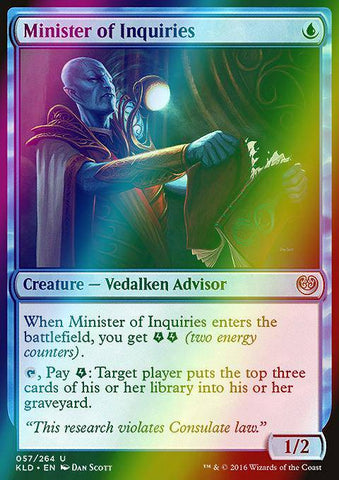 Minister of Inquiries (Foil)