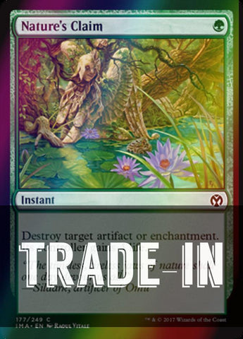 Nature's Claim (Foil) (Trade-In)
