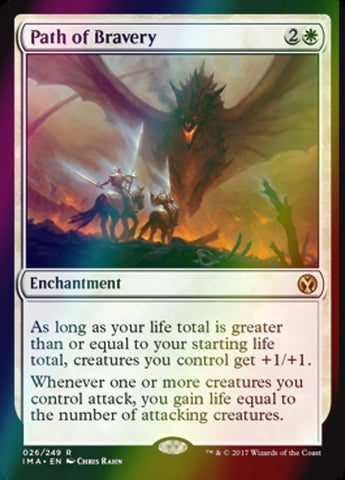 Path of Bravery (Foil)