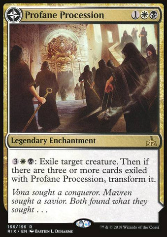 Profane Procession (Tomb of the Dusk Rose)