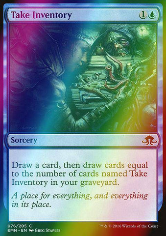 Take Inventory (Foil)