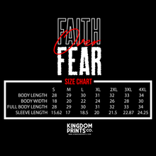 Load image into Gallery viewer, Faith Over Fear (T-shirt)