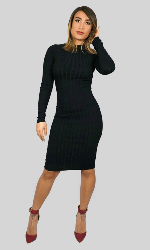 Denise black dress