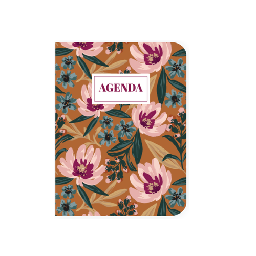 2021 Large Agenda - Autumn Crocus