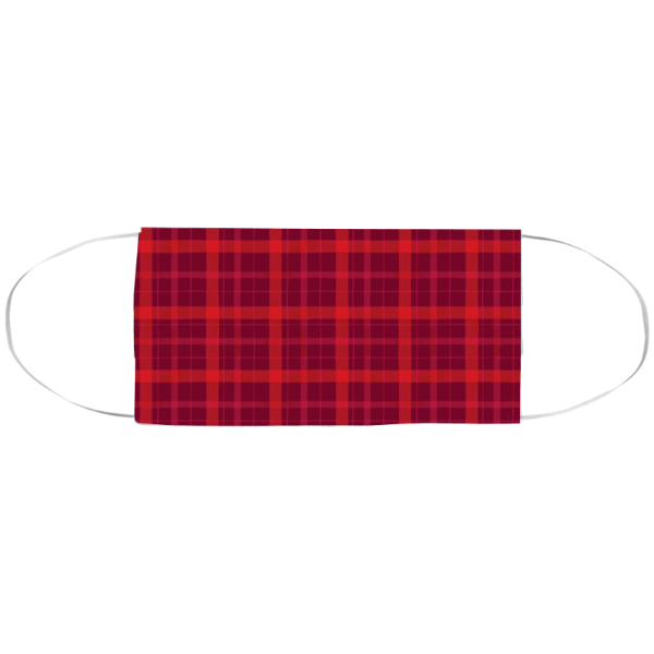 Cranberry Plaid Large