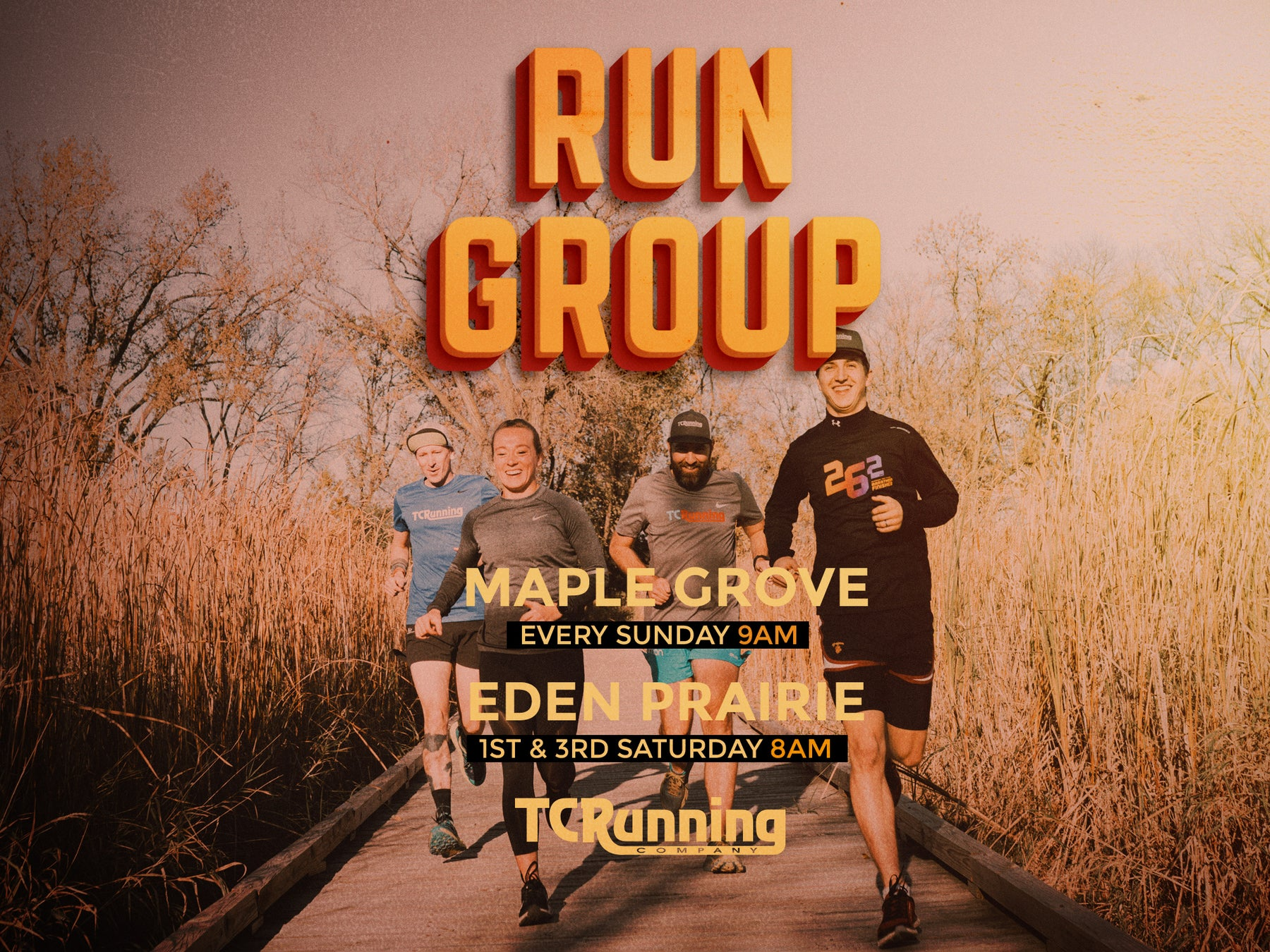Run Groups are Here