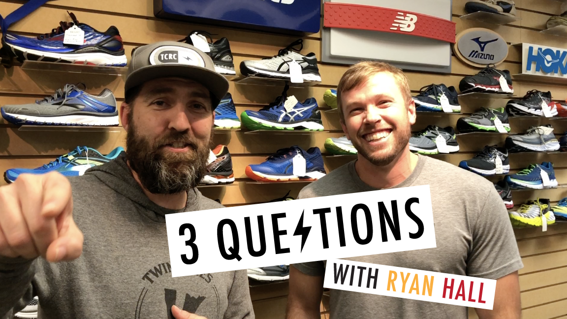 3 Questions with Ryan Hall