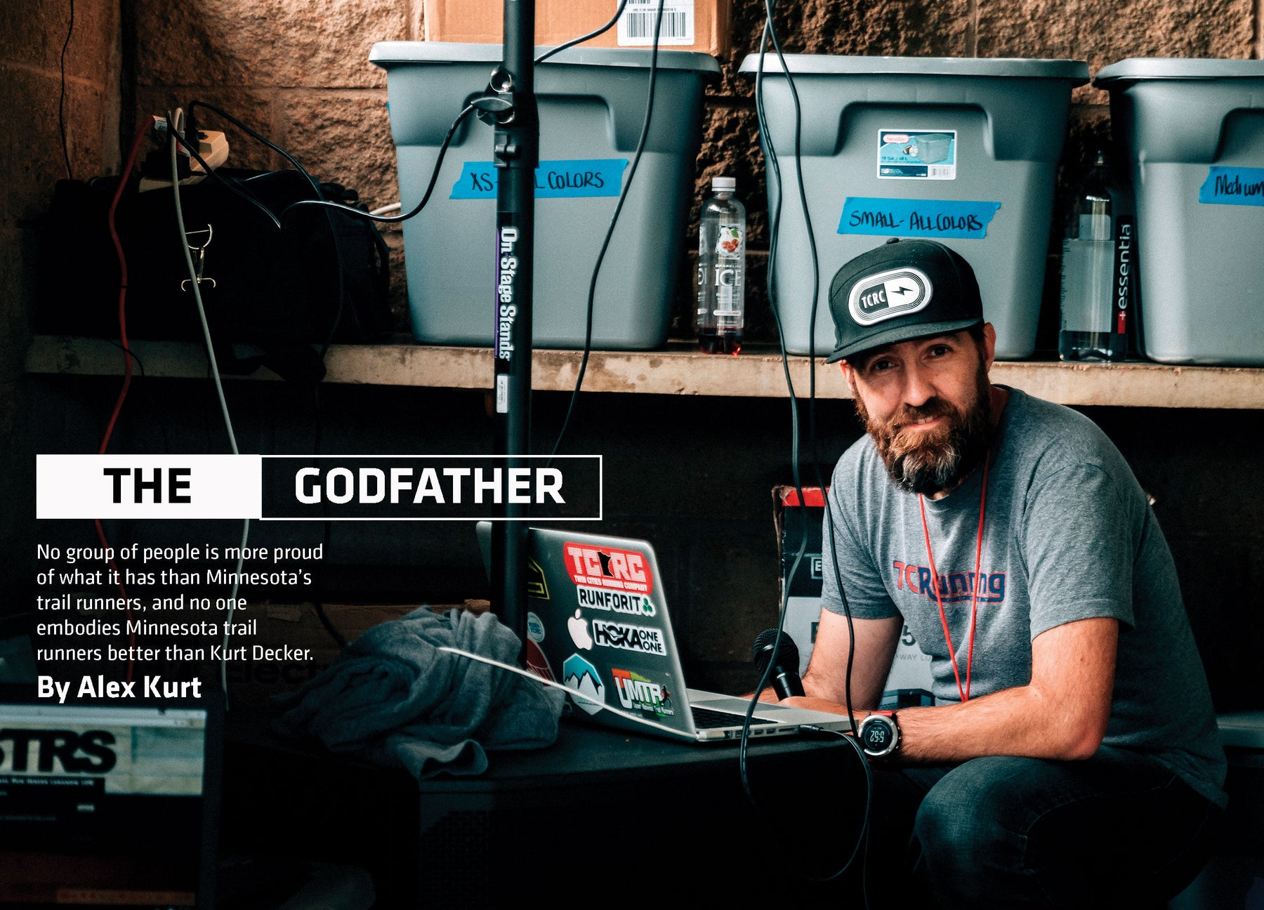 The Godfather in Trail Runner Magazine