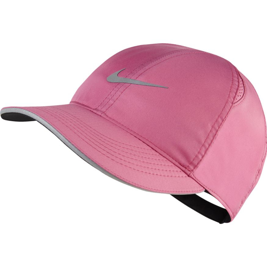 Women's Featherlight Running Cap (691 - cosmic fuchsia/reflective silver)