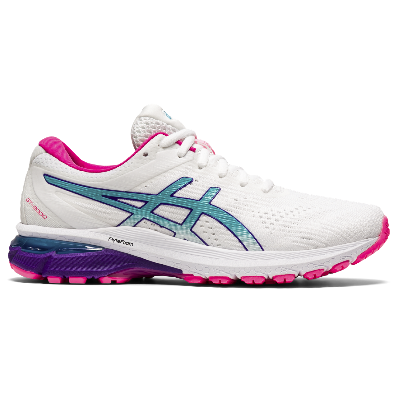 Women's GT-2000 8 (102 - white/lagoon)