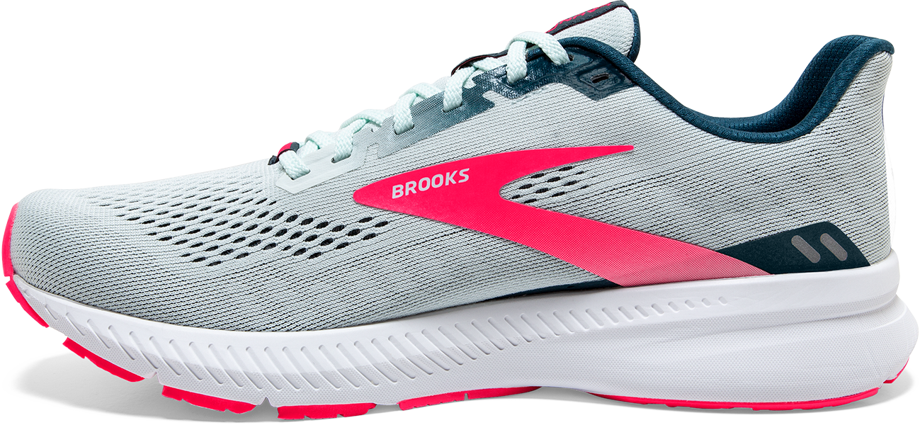 Women's Launch 8 (110 - Ice Flow/Navy/Pink)