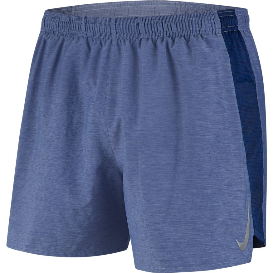 "Men's Challenger 5"" Short (493 - blue void/heather/reflective silver)"