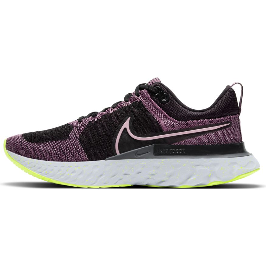 Women's React Infinity Run Flyknit 2 (500 - Violet Dust/Elemental Pink/Black/Cyber)