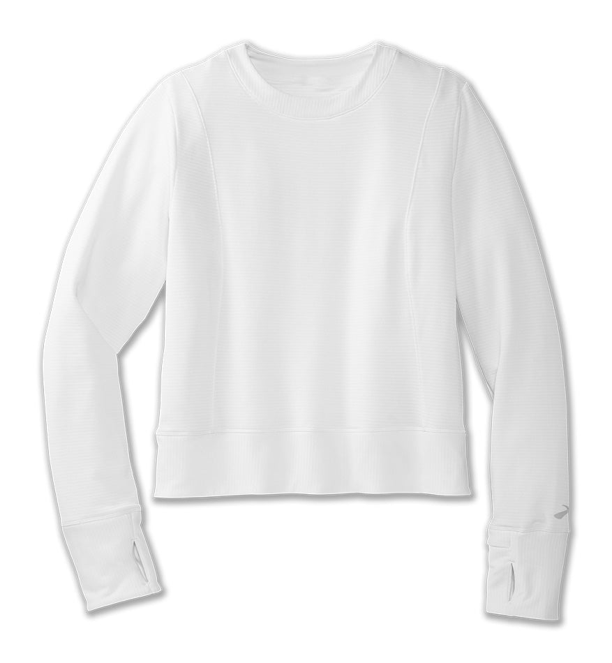 Women's Notch Thermal Long Sleeve (100 - White)