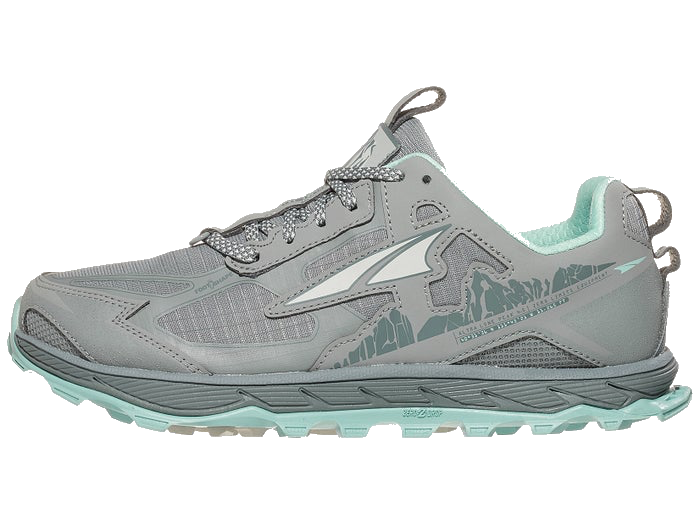Women's Lone Peak 4.5 (246 - grey/light turquoise)