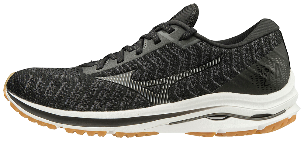 Men's Wave Rider 24 Waveknit (9098 - Black/Dark Shadow)