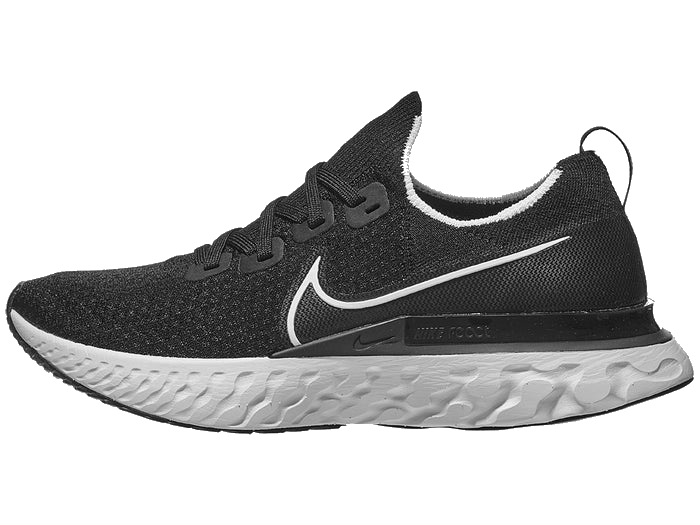 Men's React Infinity Run Flyknit (002 - black/white/dark grey)