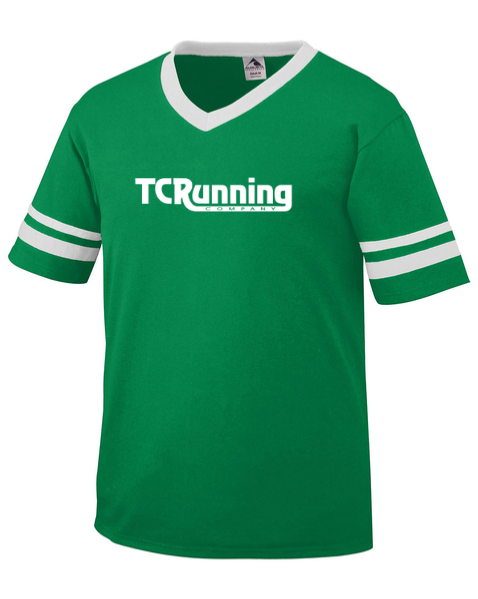 Men's TCRC Short Sleeve Jersey Tee (green/white)
