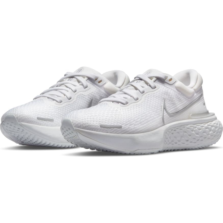 Women's ZoomX Invincible Run Flyknit (101 - White/Metallic Silver/Pure Platinum)